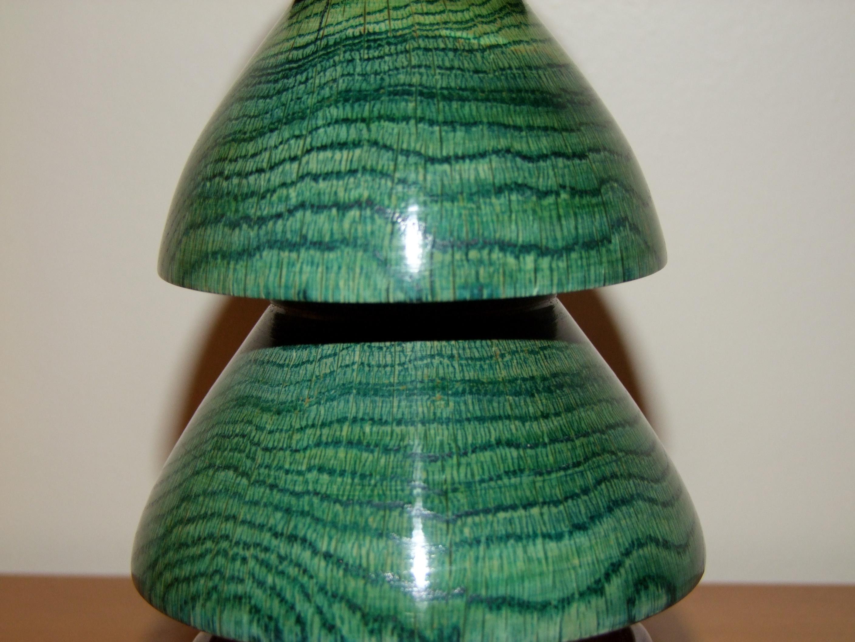 Woodturned Christmas Tree