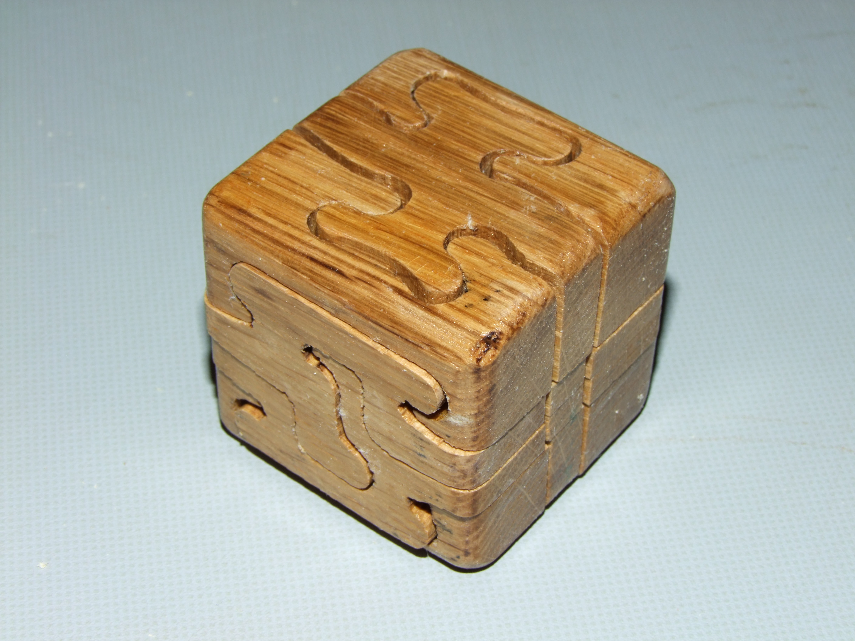 Woodworking Project- Puzzle Cube
