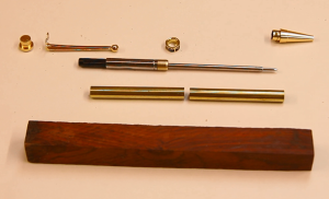 how to make wooden pens