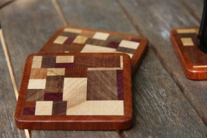 scrap wood coasters. Black Bedroom Furniture Sets. Home Design Ideas